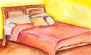 Watercolor on paper. Copyright 2014 Totsymae