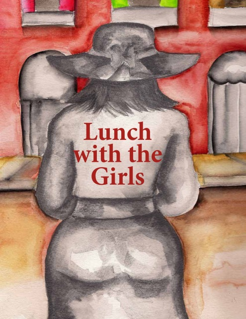 """Lunch with the Girls"" Art and Cover Design by Totsymae Copyright 2012"