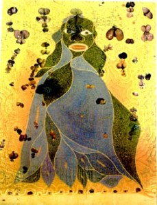 Chris Ofili's Holy Virgin Mary