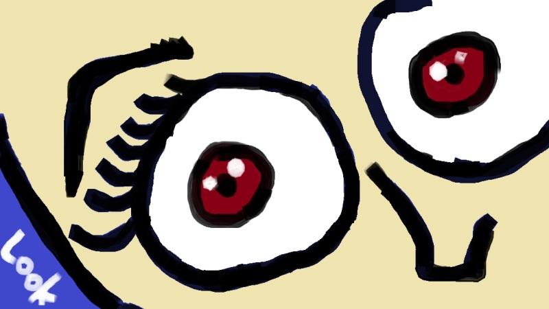 """""""Looky Looky"""" Digtial Art / Copyright 2013 Totsymae"""